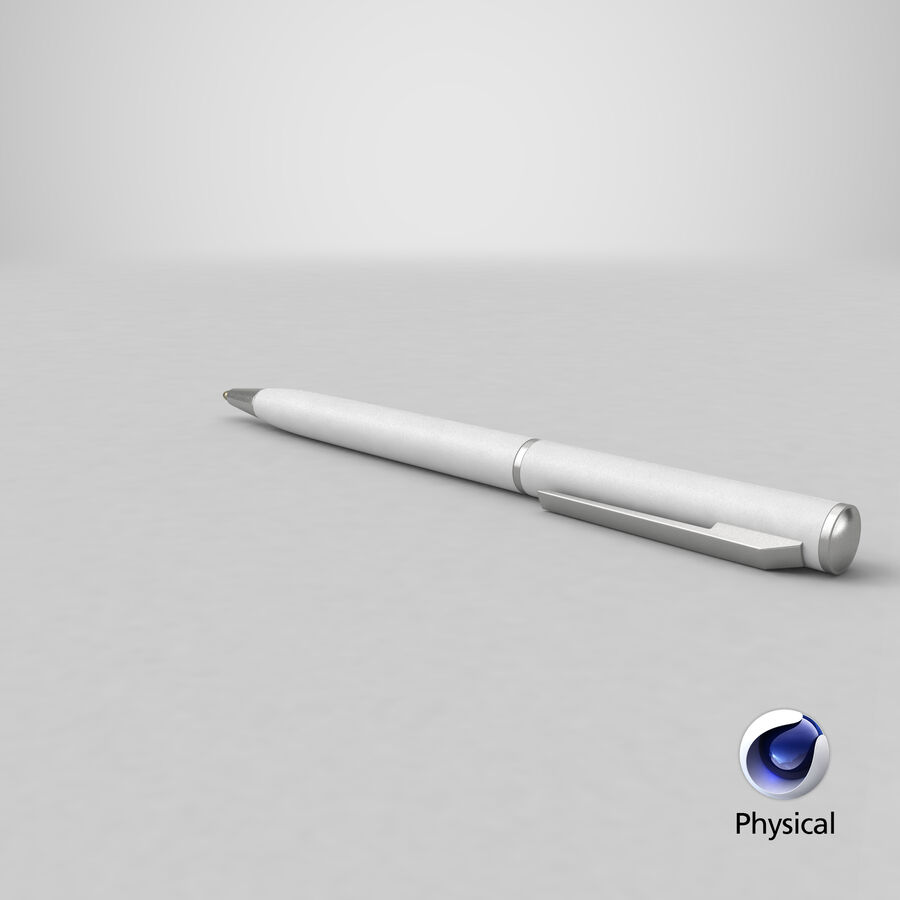 Promotional Ink Pen Mockup 01 01 royalty-free 3d model - Preview no. 26