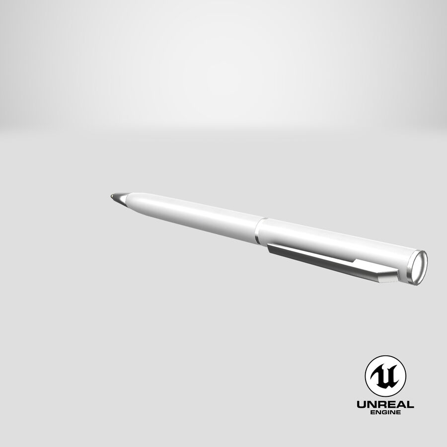 Promotional Ink Pen Mockup 01 01 royalty-free 3d model - Preview no. 24