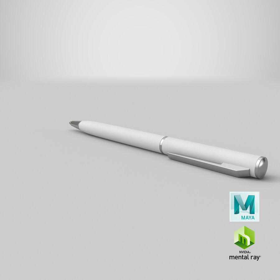 Promotional Ink Pen Mockup 01 01 royalty-free 3d model - Preview no. 21
