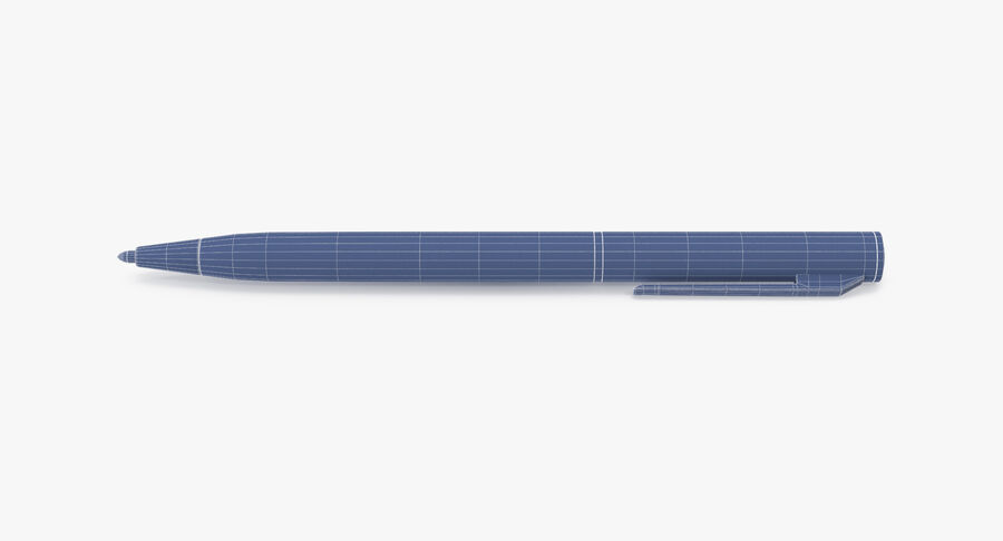 Promotional Ink Pen Mockup 01 01 royalty-free 3d model - Preview no. 15