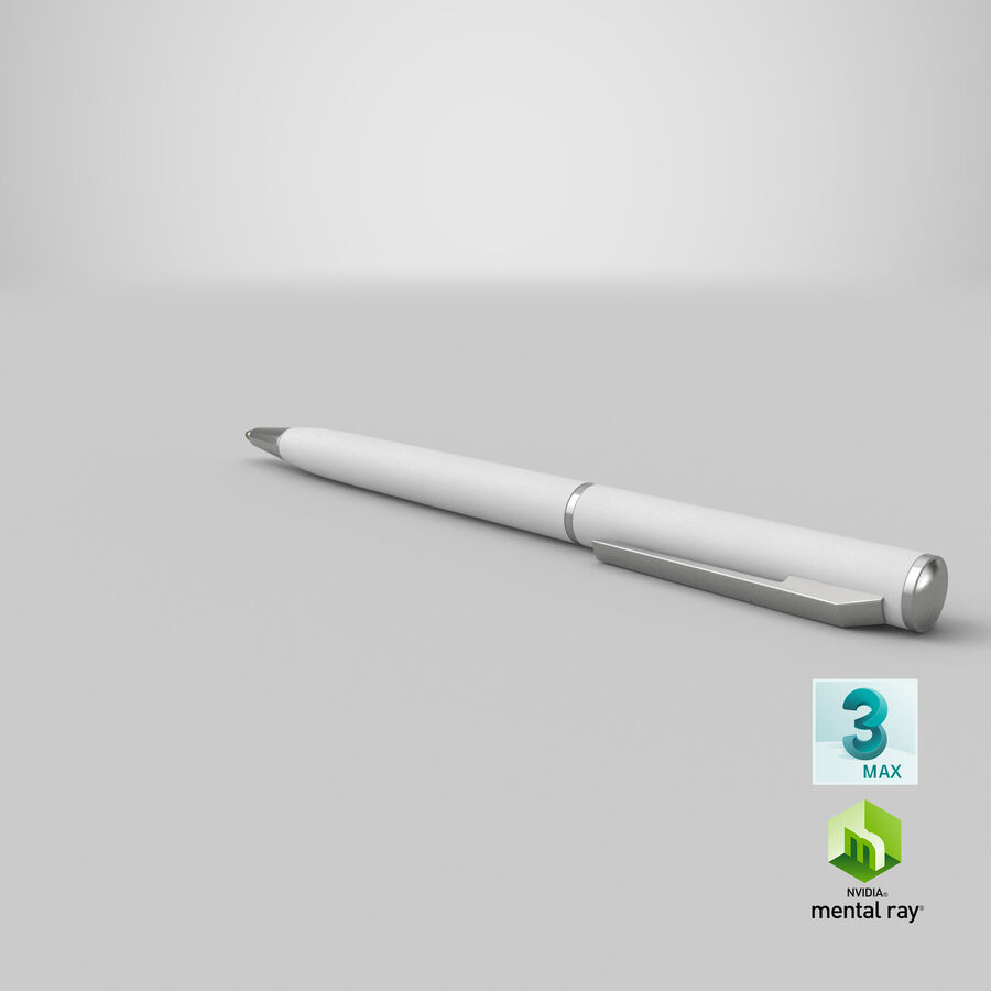 Promotional Ink Pen Mockup 01 01 royalty-free 3d model - Preview no. 23