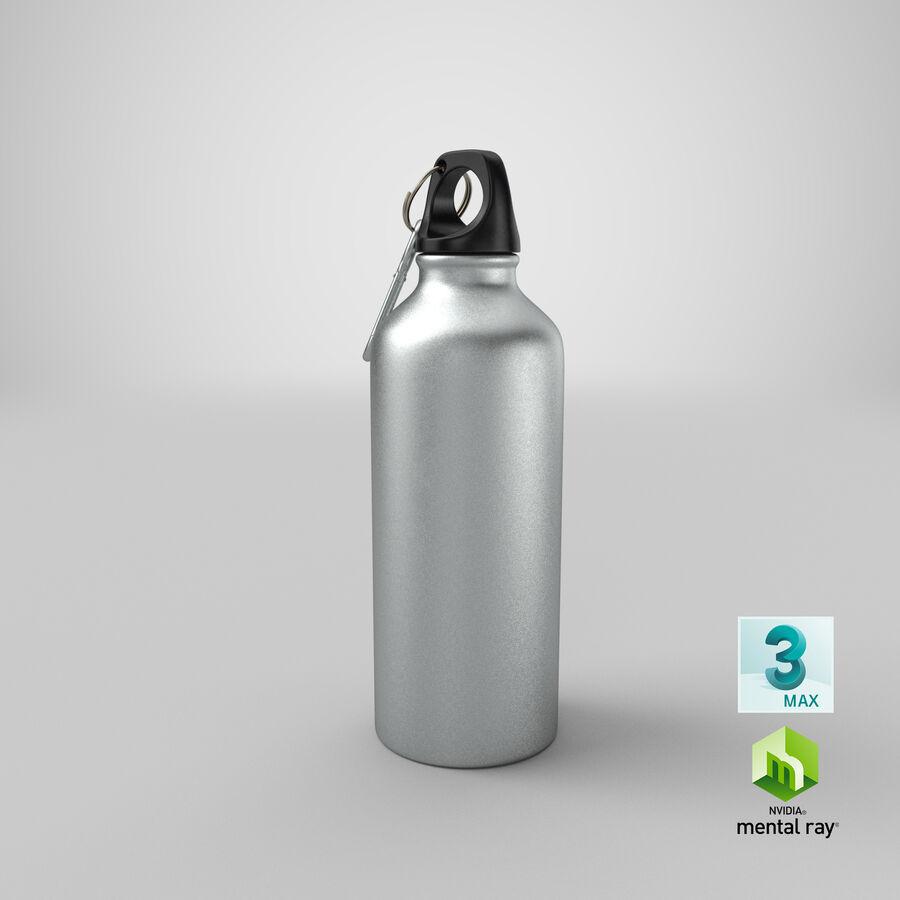 Aluminium Bottle Size 01 royalty-free 3d model - Preview no. 23