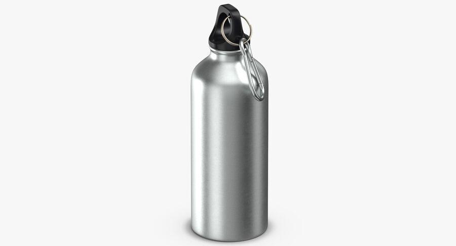 Aluminium Bottle Size 01 royalty-free 3d model - Preview no. 4