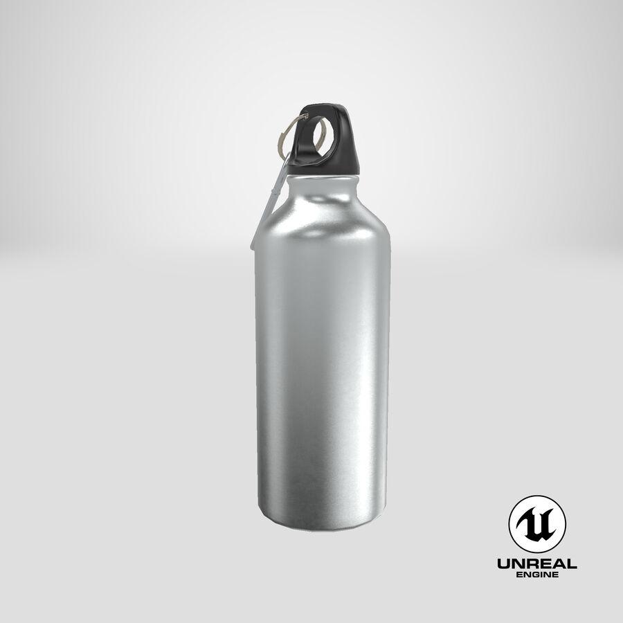 Aluminium Bottle Size 01 royalty-free 3d model - Preview no. 25