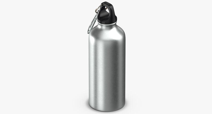 Aluminium Bottle Size 01 royalty-free 3d model - Preview no. 6