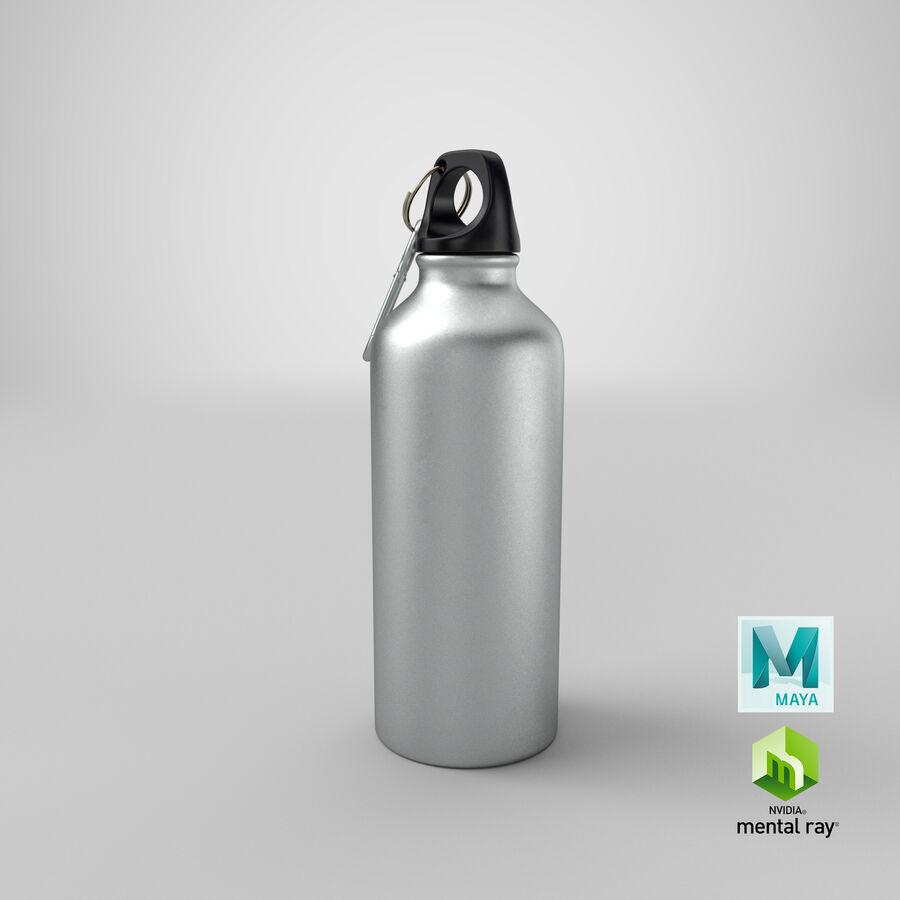 Aluminium Bottle Size 01 royalty-free 3d model - Preview no. 21