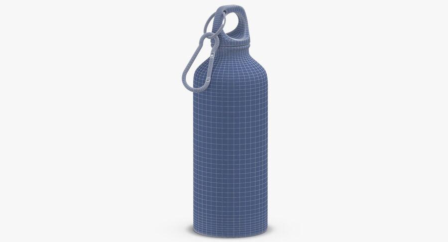 Aluminium Bottle Size 01 royalty-free 3d model - Preview no. 12