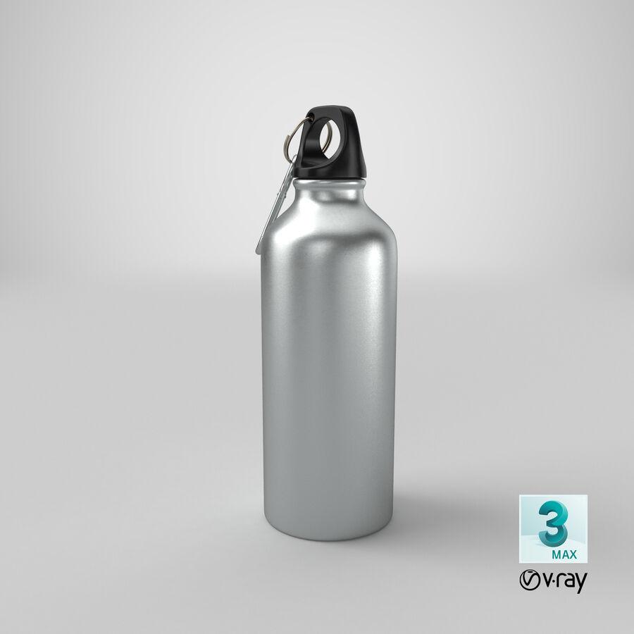 Aluminium Bottle Size 01 royalty-free 3d model - Preview no. 22