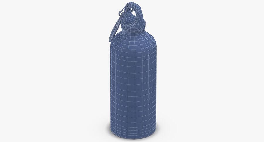 Aluminium Bottle Size 01 royalty-free 3d model - Preview no. 16