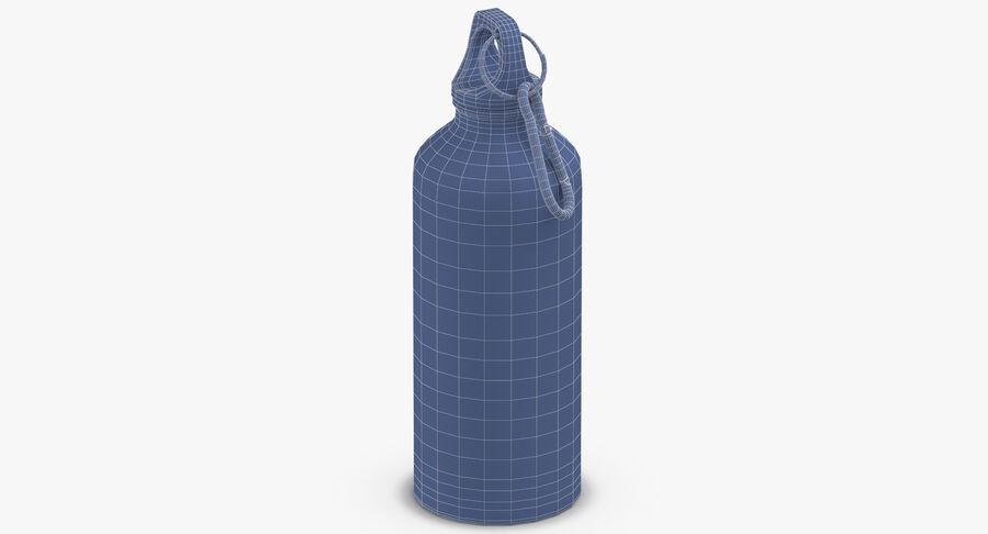 Aluminium Bottle Size 01 royalty-free 3d model - Preview no. 15