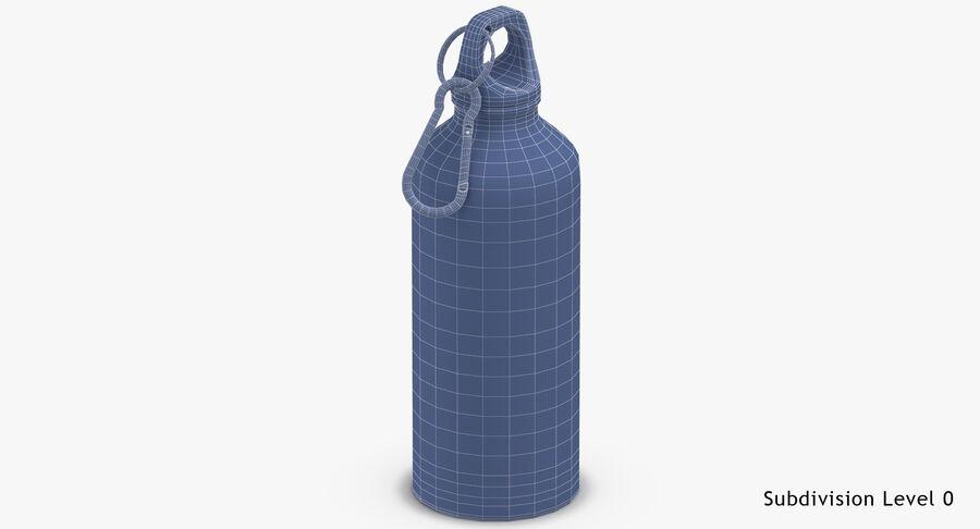Aluminium Bottle Size 01 royalty-free 3d model - Preview no. 17
