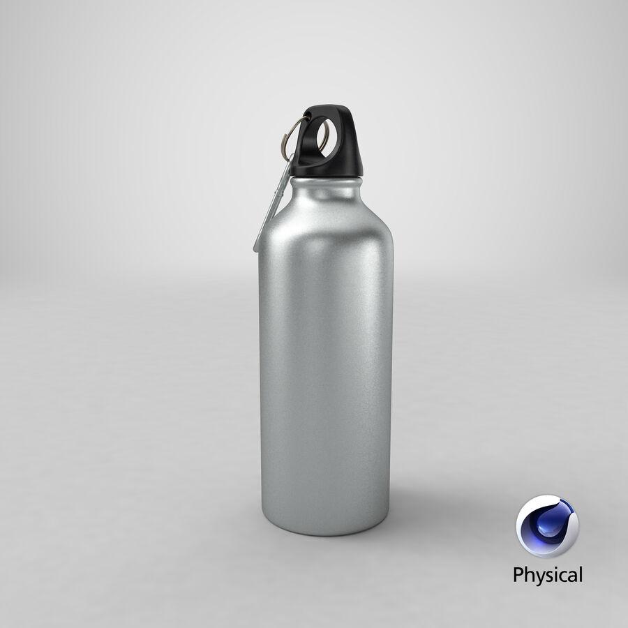 Aluminium Bottle Size 01 royalty-free 3d model - Preview no. 24