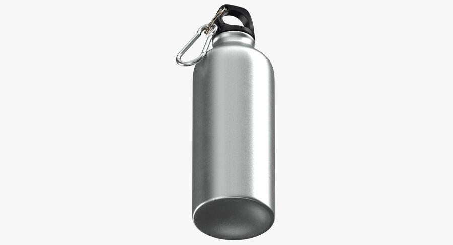 Aluminium Bottle Size 01 royalty-free 3d model - Preview no. 9