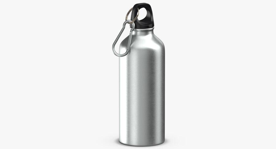 Aluminium Bottle Size 01 royalty-free 3d model - Preview no. 7
