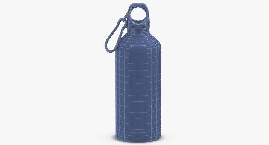 Aluminium Bottle Size 01 royalty-free 3d model - Preview no. 10