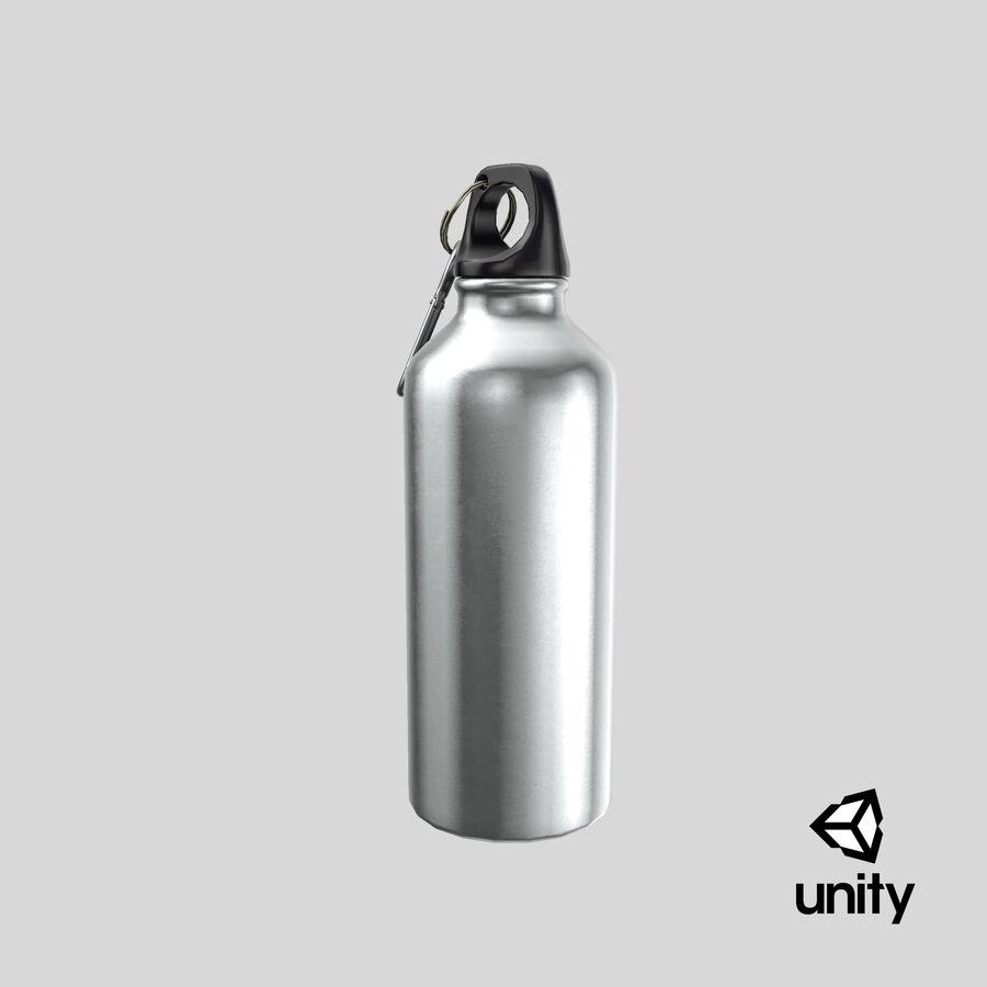 Aluminium Bottle Size 01 royalty-free 3d model - Preview no. 26