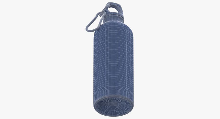 Aluminium Bottle Size 01 royalty-free 3d model - Preview no. 14