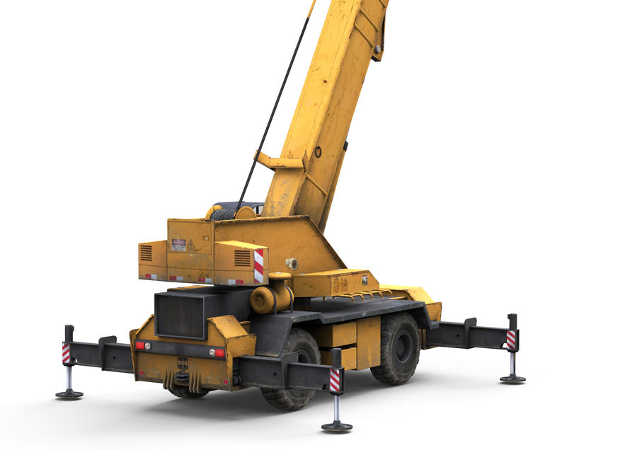 Auto crane 3D Model $29 - .unknown .obj .max .fbx .c4d - Free3D