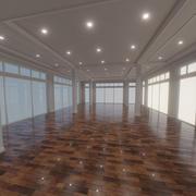 Interior moderno 11 3d model