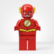 Minifiguras Lego Flash 3d model