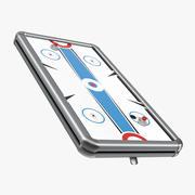 Air Hockey Tabletop 3D Model 3d model