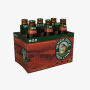 Six Pack of Woodchuck 802 3d model