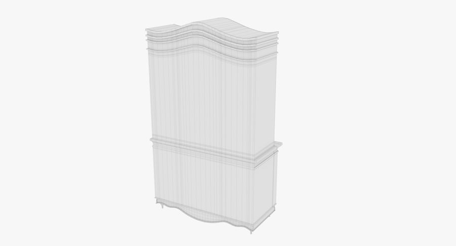 Cabinet de Chine royalty-free 3d model - Preview no. 20