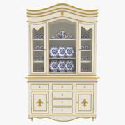 Cabinet de Chine 3d model
