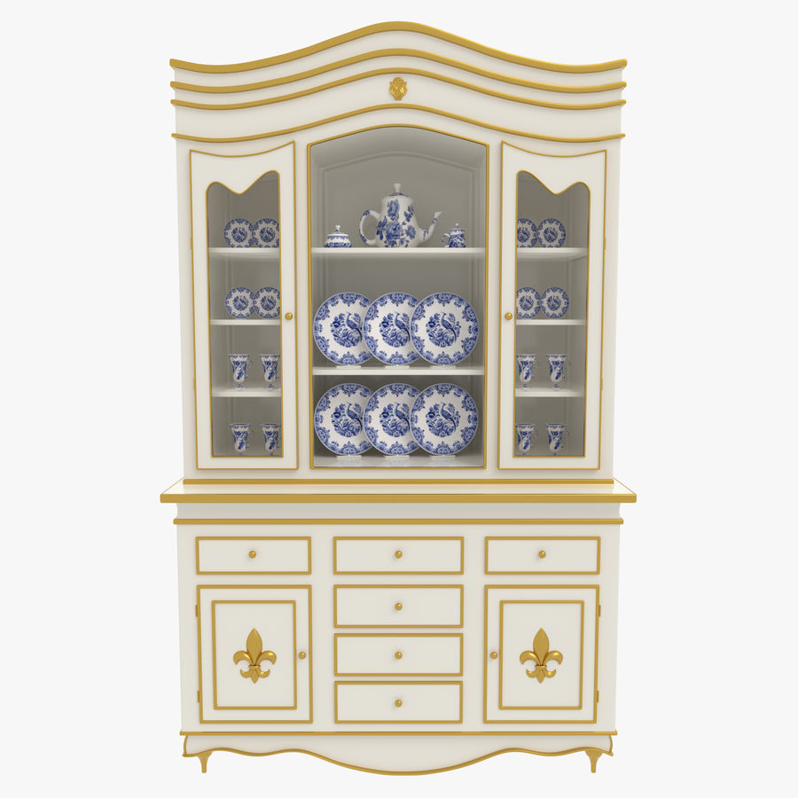 Cabinet de Chine royalty-free 3d model - Preview no. 1