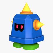 Prongo Süper Mario Varlıkları 3d model