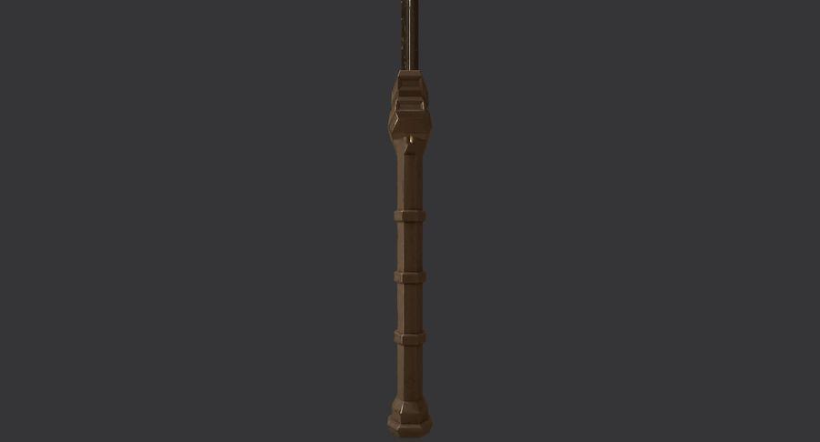 Ancient Sword royalty-free 3d model - Preview no. 17