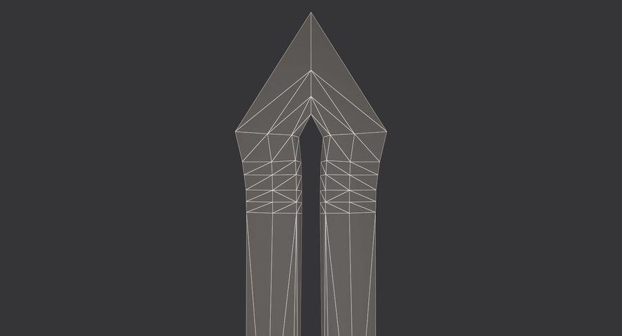 Ancient Sword royalty-free 3d model - Preview no. 22
