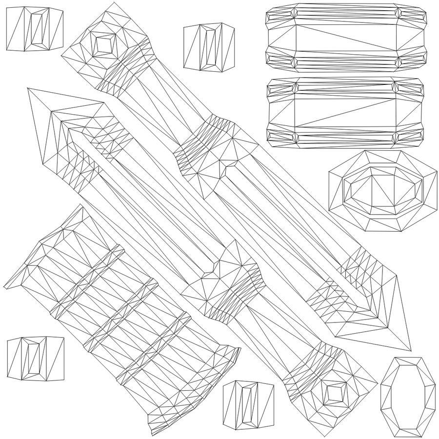 Ancient Sword royalty-free 3d model - Preview no. 31