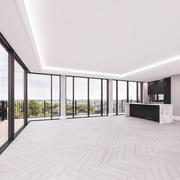 顶楼住宅生活空间 3d model