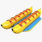 Banana Boat Attraction 3d model