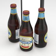 Beer Bottle Anchor Brewing Go West IPA 355ml 3d model