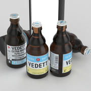 啤酒瓶Vedett 330ml 3d model