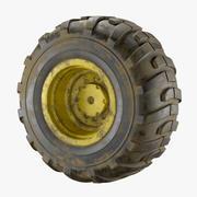 Tractor vuil wiel 3d model
