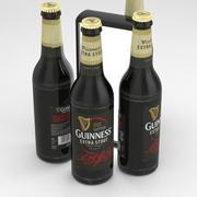 Butelka piwa Guinness Extra Stout 500ml 3d model