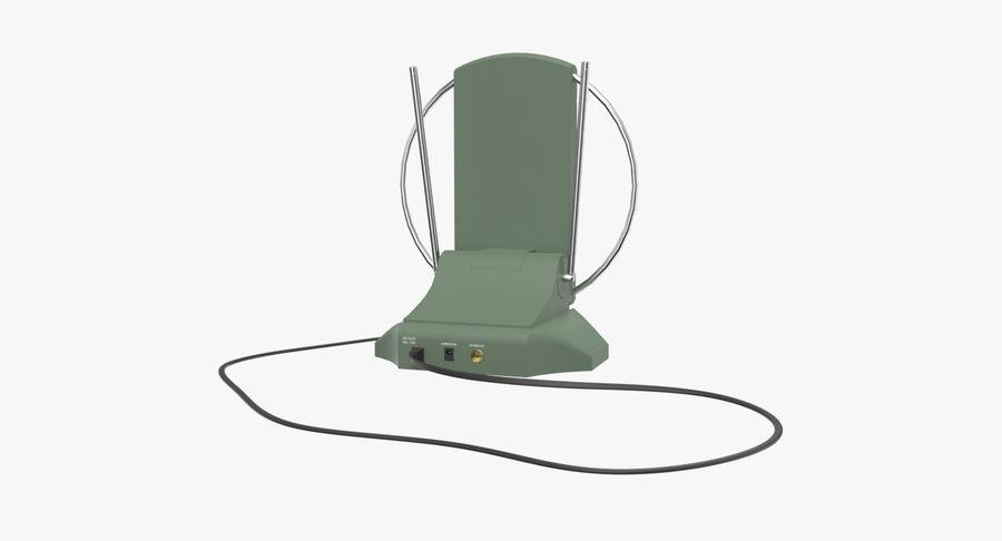 TV-antenn royalty-free 3d model - Preview no. 4