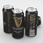 Piwo Guinness Draft Stout 440ml 2019 3d model