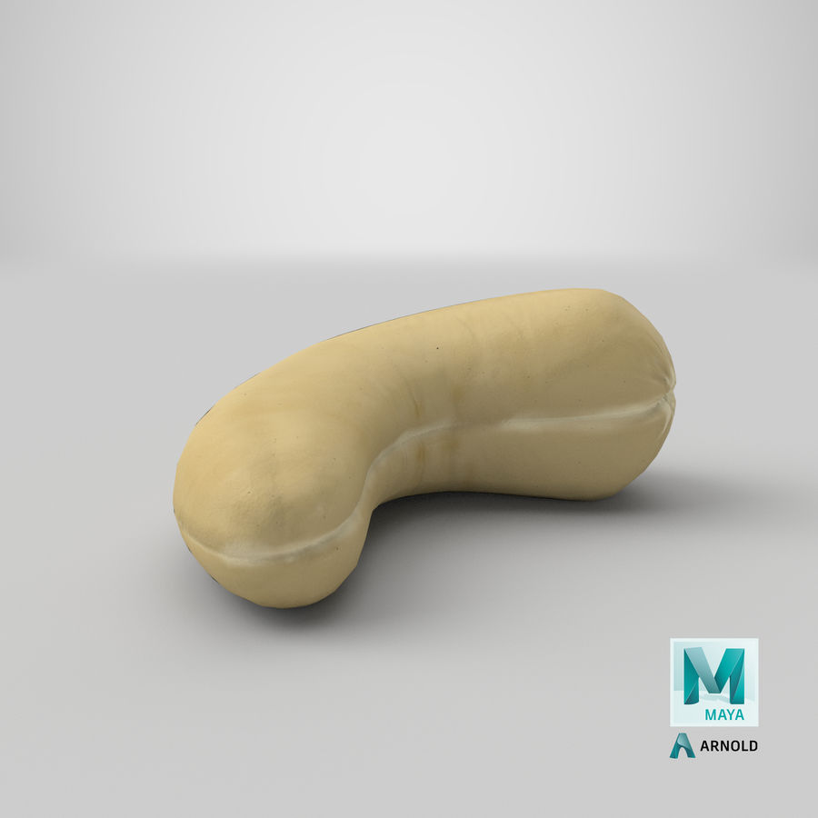 Cashew royalty-free 3d model - Preview no. 29