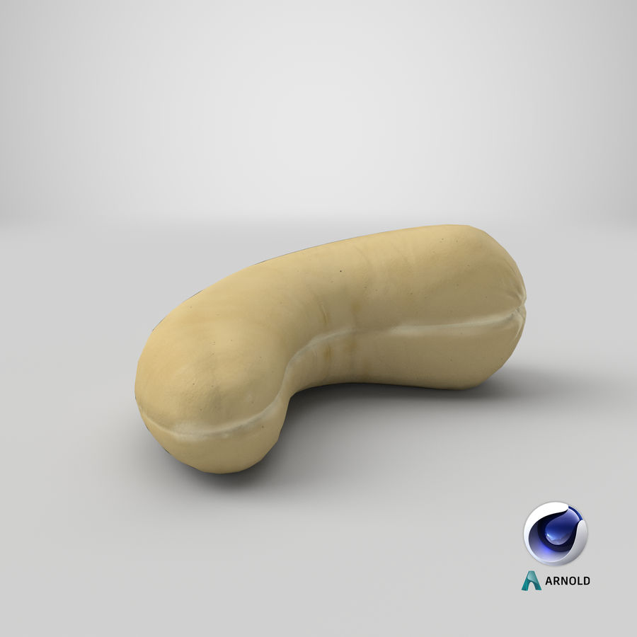 Cashew royalty-free 3d model - Preview no. 23