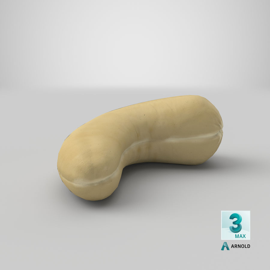 Cashew royalty-free 3d model - Preview no. 26