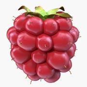 Berry não maduro modelo 3D de Blackberry 3d model