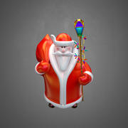 Santa Toy 3d model