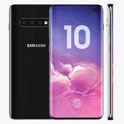 Samsung Galaxy S10 Plus 3d model