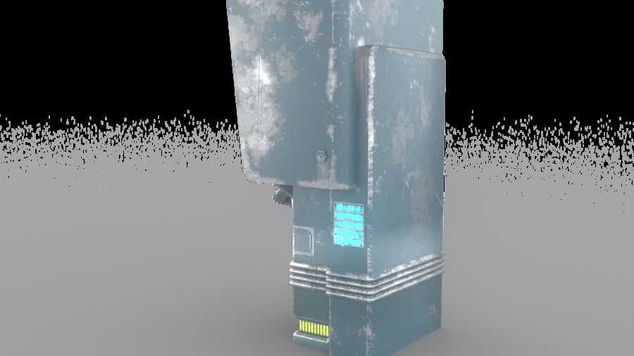 Telefone royalty-free 3d model - Preview no. 11