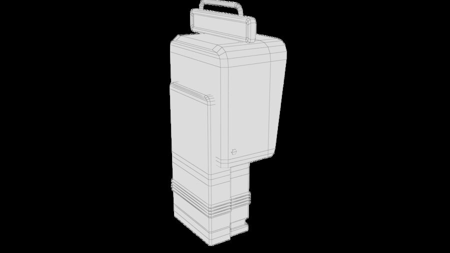 Telefone royalty-free 3d model - Preview no. 33