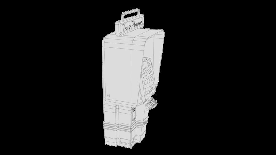 Telefone royalty-free 3d model - Preview no. 31